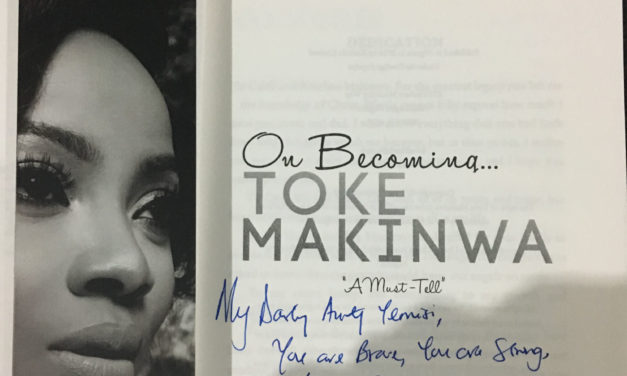 On becoming….._A personal review by Yemisi Wada